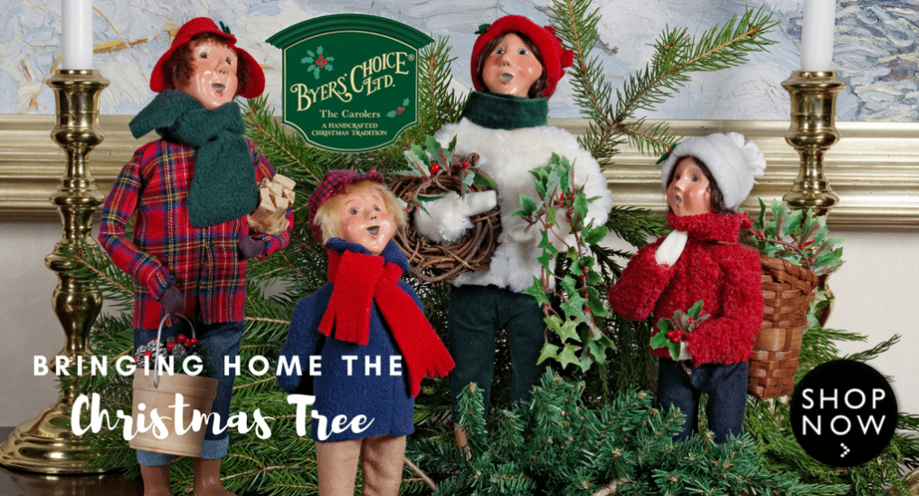 Byers' Choice Christmas Banner | Wooden Duck Shop