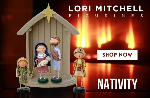 Lori Mitchell - Nativity Figurines