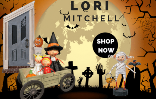 Lori Mitchell Halloween Figurines