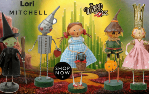 Lori Mitchell - Wizard of Oz | Wooden Duck Shop