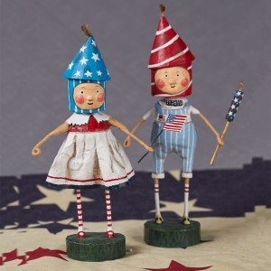Lori Mitchell - Lil' Firecrackers - Set of 2