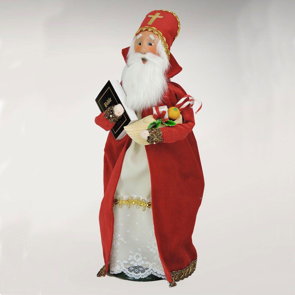Vintage Christmas Decorations Mouse Carolers Set Jasco: Byers Choice – 2017 St. Nicholas