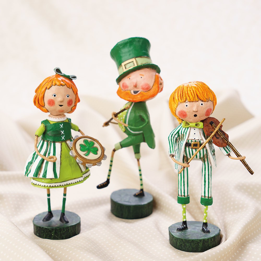 Wizard of oz christmas decorations uk - Lori Mitchell St Patricks Day Figurines