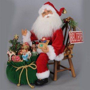 Karen Didion Originals - I Believe Santa Claus Limited Edition 20th Anniversary