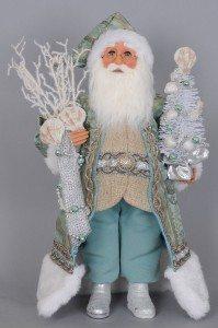Karen Didion Originals - Seafoam Coastal Santa