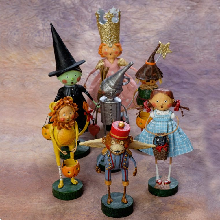 Lori Mitchell Complete Wizard Of Oz Set Wooden Duck Shoppe