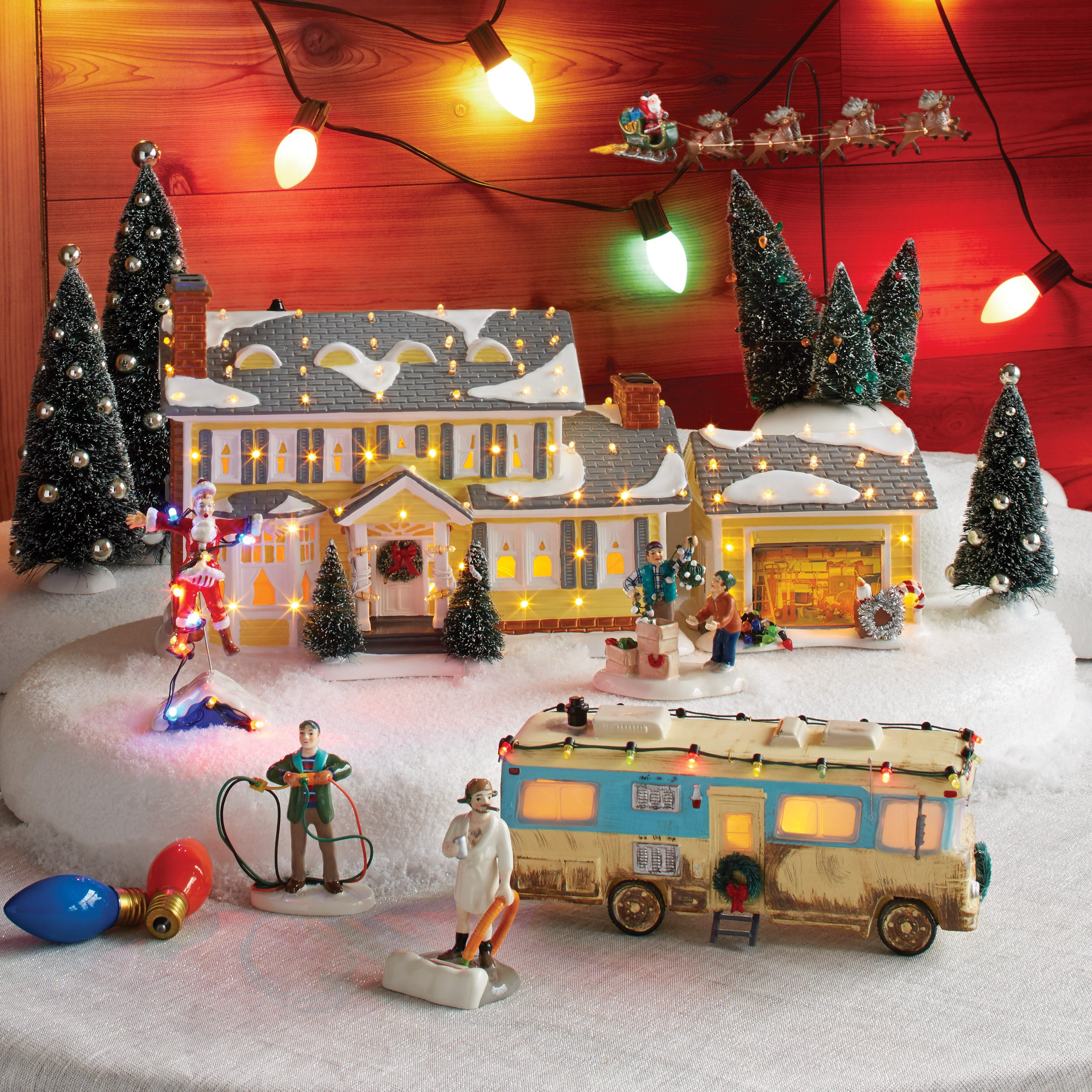 department 56 national lampoons christmas vacation wooden duck shoppe - National Lampoons Christmas Vacation Decorations
