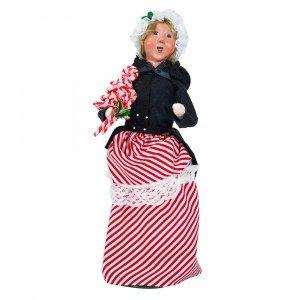 Byers Choice - Candy Cane Woman Caroler