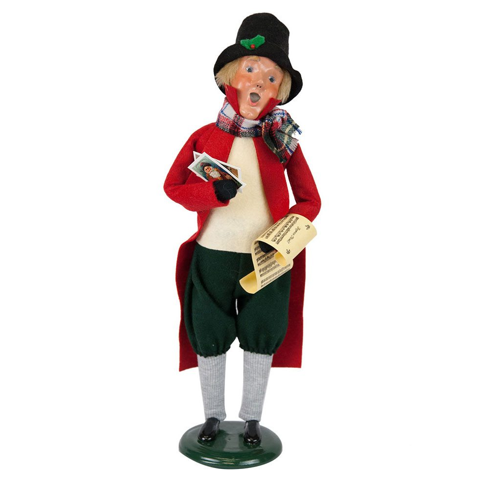 Byers Choice – Evans Man with Christmas Cards | Wooden Duck Shoppe