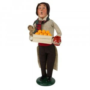 Byers Choice - Man with Gingerbread - Wooden Duck Shoppe