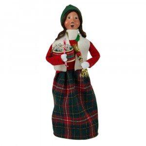 Byers Choice - Glass Ornament Woman - Wooden Duck Shoppe