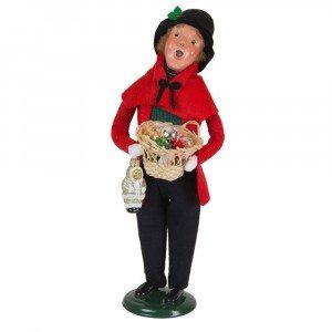 Byers Choice - Glass Ornament Man - Wooden Duck Shoppe