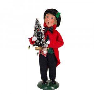 Byers Choice - Glass Ornament Boy - Wooden Duck Shoppe
