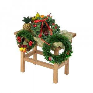 Byers Choice - Wreathmaker Table - Wooden Duck Shoppe