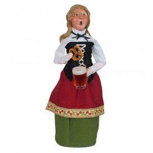 Byers Choice - Oktoberfest Woman - Wooden Duck Shoppe