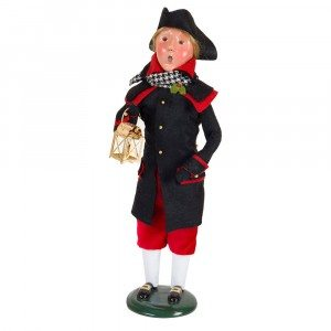 Byers Choice - Colonial Man Red and Black - Wooden Duck Shoppe