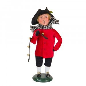 Byers Choice - Colonial Boy Red and Black - Wooden Duck Shoppe