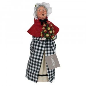Byers Choice - Colonial Grandmother Red and Black - Wooden Duck Shoppe