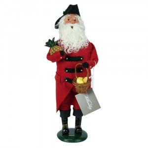 Byers Choice - Colonial Grandfather Red and Black - Wooden Duck Shoppe