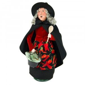 Byers Choice - Cauldron Witch - Wooden Duck Shoppe