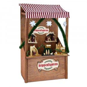 Byers Choice - Nativity Market Stall - Wooden Duck Shoppe