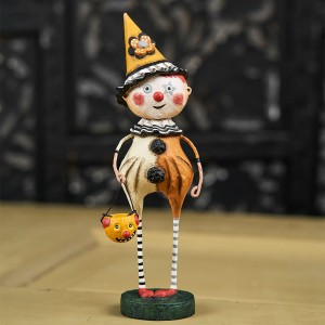 Lori Mitchell Figurine - Trick or Treat Clown Figurine