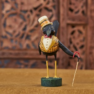 Lori Mitchell Figurine - Old Crow Figurine