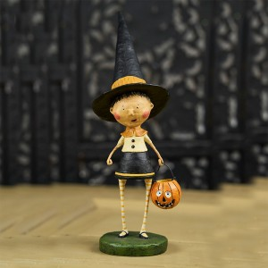 Lori Mitchell Figurine - Witchy Helen Figurine