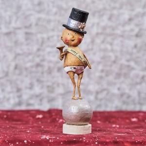 Lori Mitchell Figurine - Baby New Year Figurine