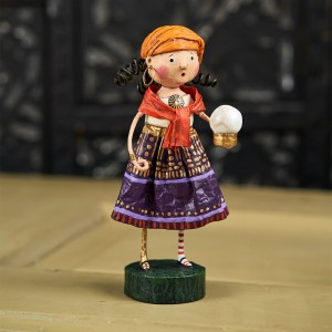 Lori Mitchell Figurine - Gypsy Rose Figurine - Wooden Duck Shoppe