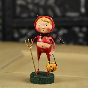 Lori Mitchell Figurine - Lil' Devil Figurine - Wooden Duck Shoppe