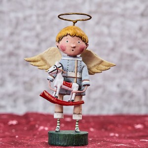 Lori Mitchell Figurine - Angel of Christmas Magic Figurine