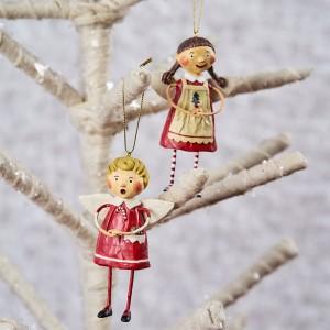 Lori Mitchell Figurine - Tree Trimming Ornaments