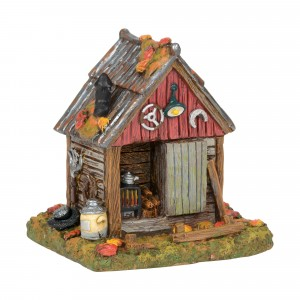 department 56 backwoods tool shed wooden duck shoppe
