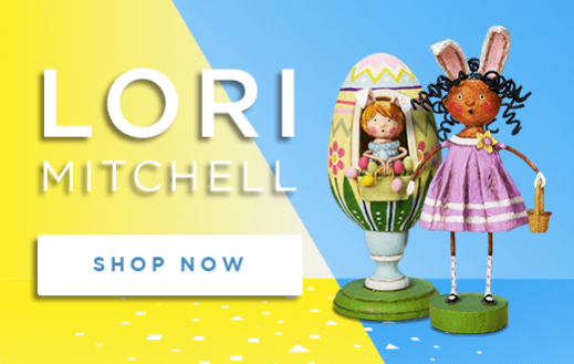 Lori Mitchell Spring and Easter Figurines