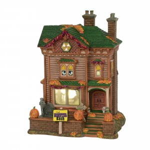 Department 56 - Monster Mash Party House - Wooden Duck Shoppe