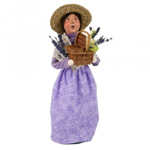 Byers Choice - Lavender Lady - Wooden Duck Shoppe