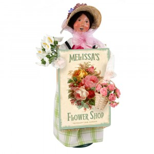 Byers Choice - Flower Shop Woman - Wooden Duck Shoppe