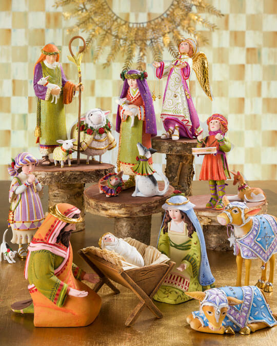 Patience Brewster - Nativity Figures Collection