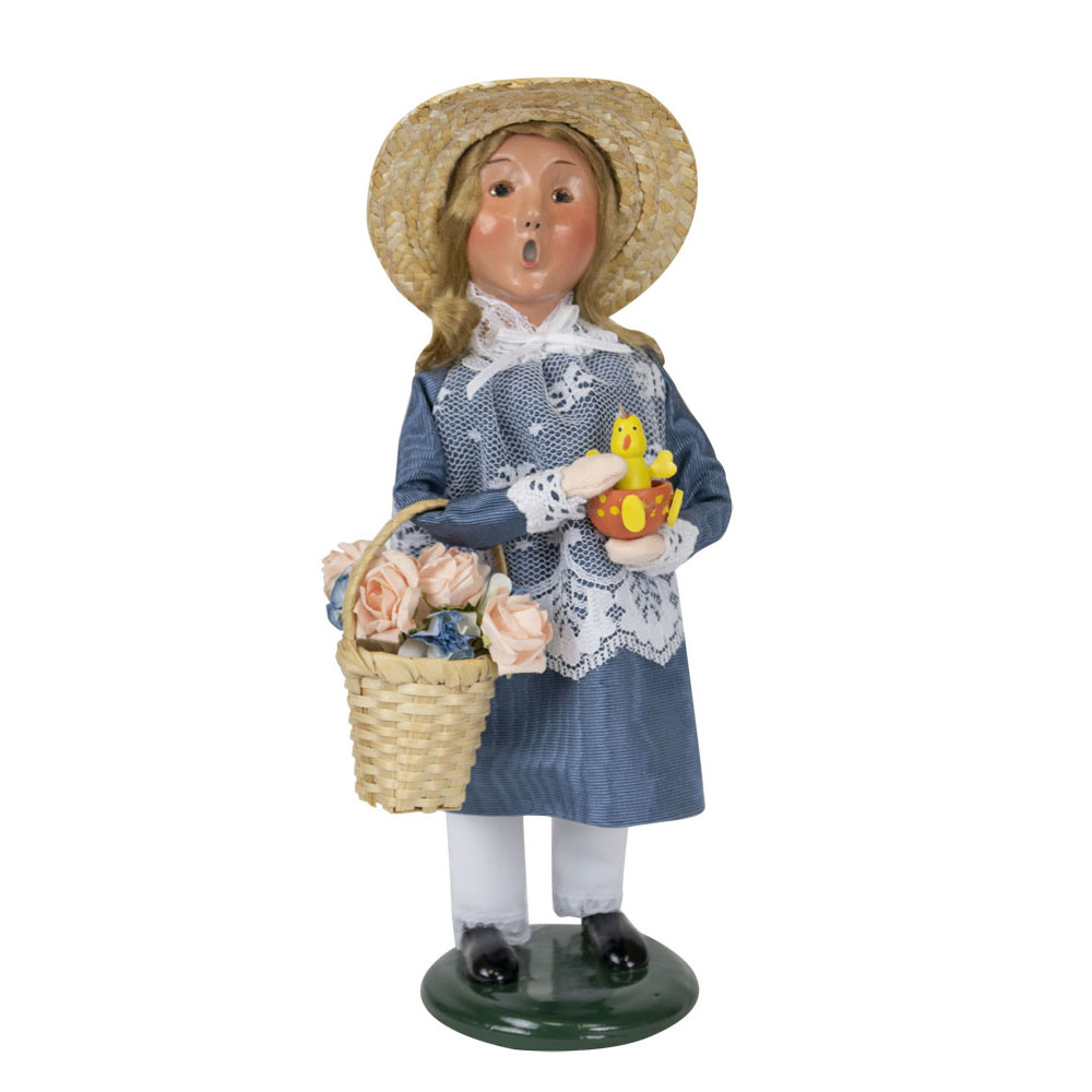 62 Best Decorating With Byers Choice Carolers Images On: Byers Choice – Easter Girl