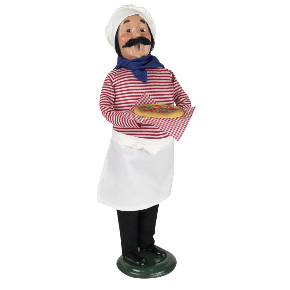 Jbigg S Little Pieces Byers Choice Carolers: Byers Choice – Chef With Pizza
